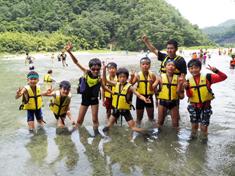 夏休み子供サマーキャンプ2018:長野・川と森のコース