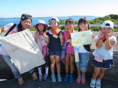 夏休み子供サマーキャンプ2018:海と岬のコース