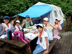 夏休み子供サマーキャンプ2018:山とテントのコース